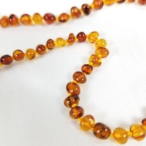 Authentic Amber Necklace New